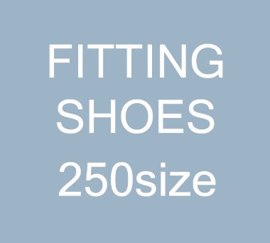[250size]FITTING SHOES SALE