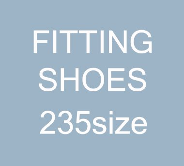 [235size]FITTING SHOES SALE