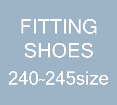 [240~245size]FITTING SHOES SALE